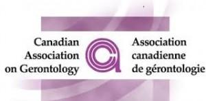 Canadian Association on Gerontology logo