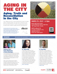 Aging, Truth and Reconciliation in the City