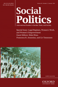 Social Politics journal cover
